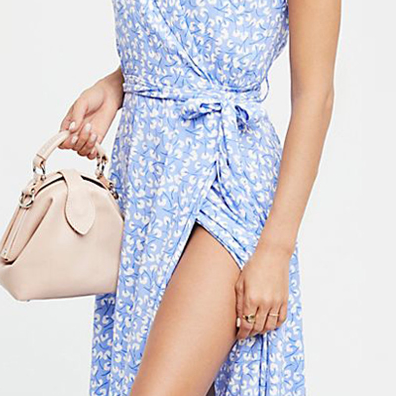 Wholesales woven ladies summer maxi dress